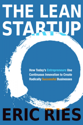 "Book cover for ""The Lean Startup"""
